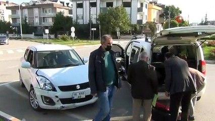 Bursa'da aynı kavşakta onlarca kaza meydana geldi