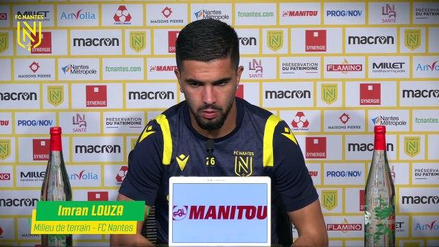Imran Louza avant RC Lens - FC Nantes
