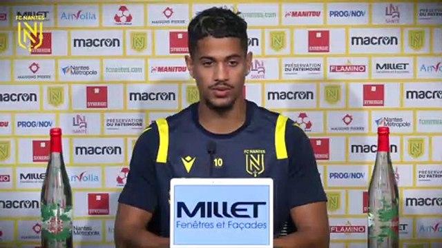 Ludovic Blas avant RC Lens - FC Nantes