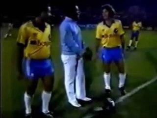 O Encontro de Pelé ,Zico e Rivellino no Estádio do Canindé em 1989
