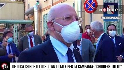 Coronavirus, Campania lockdown: la decisione di De Luca e delle altre Regioni
