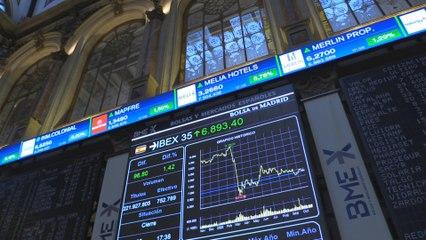 El Ibex 35 suma un 1,42 % y un 0,64 % semanal