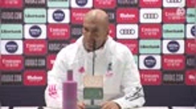 """Clasico - Zidane : """"Jamais à l'abri"""""""