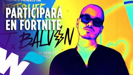 J BALVIN PARTICIPARÁ EN LAS FIESTAS ULTRATUMBA DE FORNITE Y MÁS.