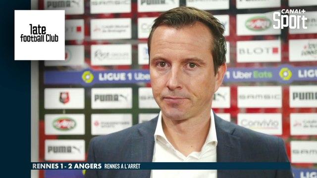 La réaction de Julien Stéphan après la défaite de Rennes