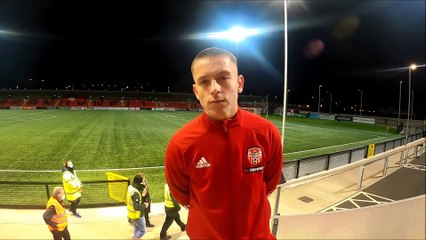 Jack Malone gives his verdict after Shels win