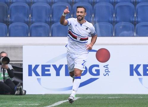 Serie A - Quagliarella se joue de la défense de l'Atalanta avec classe