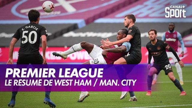 Le résumé de West Ham / Manchester City