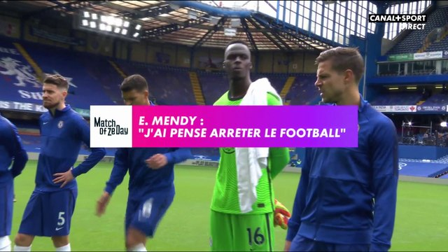 "Edouard Mendy: ""J'ai pensé arrêter le football"""