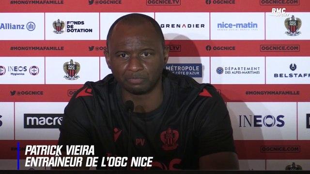 """Nice : """"Cette situation est inacceptable pour nous"""" avoue Vieira"""