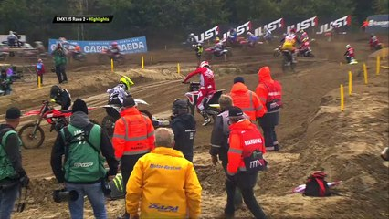 EMX 125 Presented by FMF Racing News Highlights - MXGP of Lommel 2020