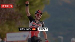 Resumen - Etapa 5   La Vuelta 20