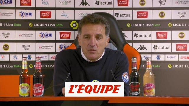 Pélissier : «On a posé des problèmes à Marseille» - Foot - L1 - Lorient