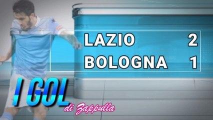 VIDEO - LAZIO-BOLOGNA 2-1 - I GOL DI LUIS ALBERTO E IMMOBILE CON LE URLA DI ZAPPULLA