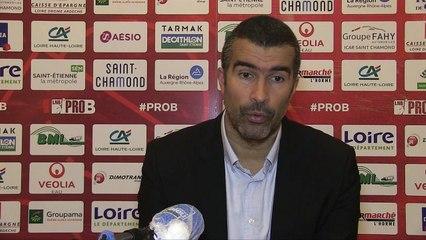 St-Chamond vs PB (J3 Prob) : Réaction de Jérôme Navier