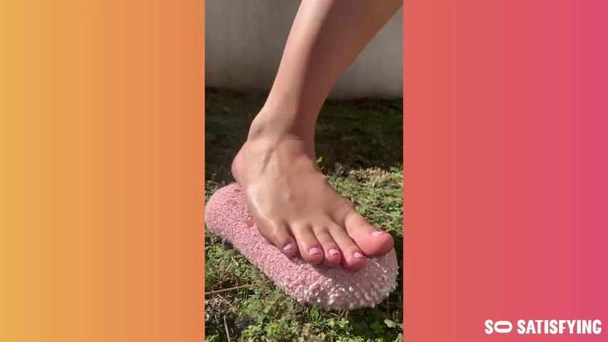 So Satisfying ASMR video compilation with slime RELAXING