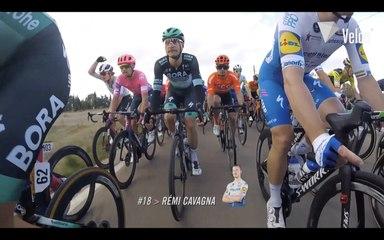 Vuelta a España 2020: Stage 4 on-bike highlights