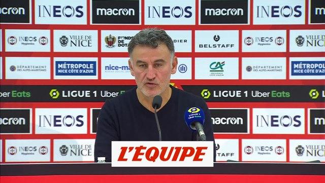Galtier : «Quelque fois, il ne faut pas faire la fine bouche» - Foot - L1 - Lille