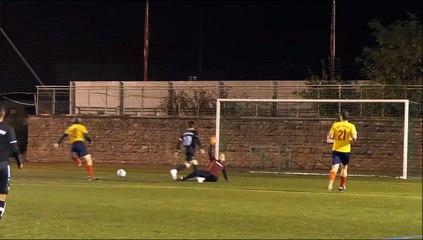 Das 2:1 für SVG IV gegen Puma II durch Dalil Sulaiman