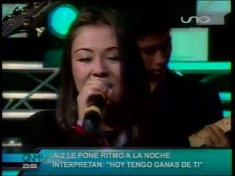 VIDEO: HOY TENGO GANAS DE TI (en QNMP)