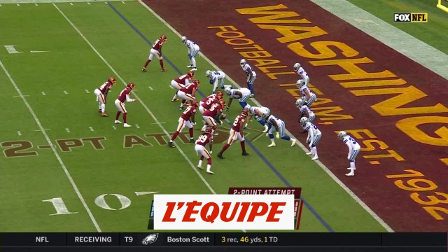 Les temps forts de Washington Football Team - Dallas Cowboys - Foot US - NFL