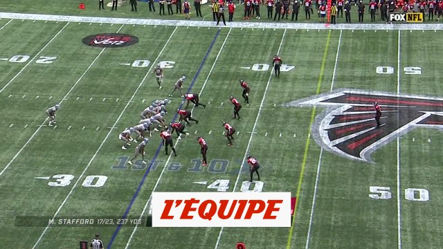 Les temps forts de Atlanta Falcons - Detroit Lions - Foot US - NFL