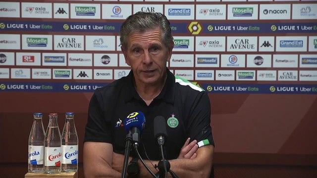 Metz - ASSE, la réaction des coaches