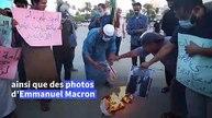 Libye: des manifestants brûlent des portraits du Président Macron suite à ses propos