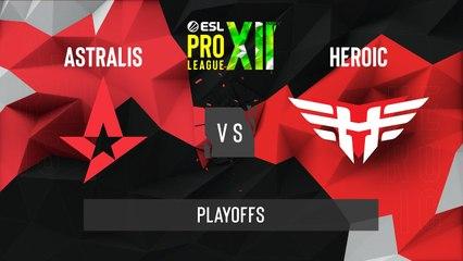 CSGO - Astralis vs. Heroic [Vertigo] Map 1 - ESL Pro League Season 12 - Playoffs - EU