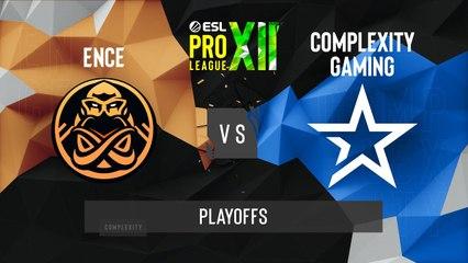 CSGO - Complexity vs. ENCE [Overpass] Map 3 - ESL Pro League Season 12 - Playoffs - EU