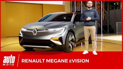 Renault Megane eVision : la future Mégane électrique en filigrane