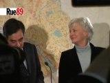 Fillon soutient Françoise de Panafieu