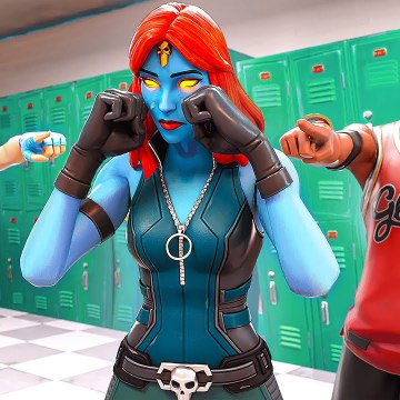 MYSTIQUE ORIGIN STORY! (A Fortnite Short FIlm)