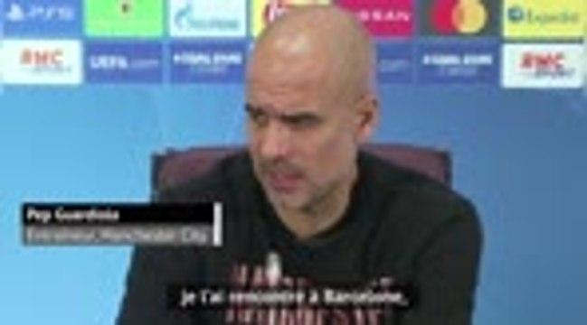 """Groupe C - Guardiola : """"Il faut contrôler le jeu face à l'OM"""""""