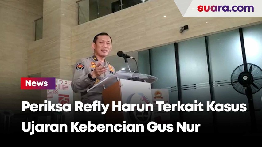 Kasus Ujaran Kebencian Gus Nur Terhadap NU, Polisi Bakal Periksa Refly Harun