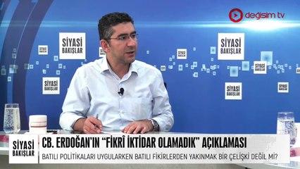 """Cumhurbaşkanı Erdoğan'ın """"Fikrî İktidar Olamadık"""" Açıklaması"""