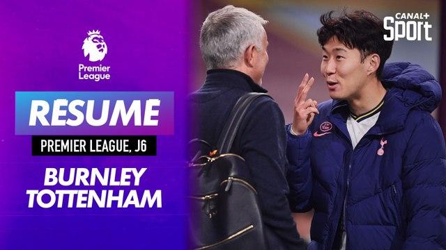 Le résumé de Burnley - Tottenham en VO