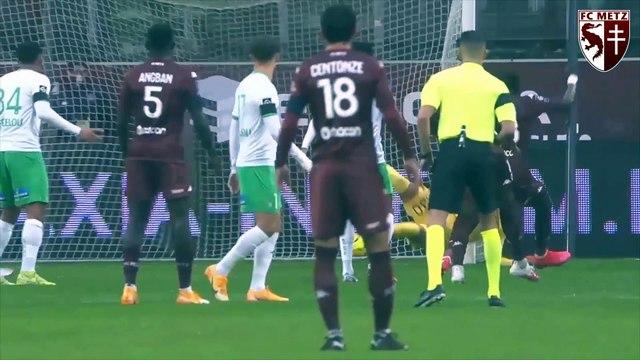 Metz - ASSE, Farid Boulaya Grenat du match !