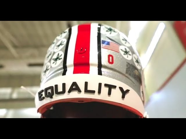 Look Ohio State reveals 'EQUALITY' message on helmets