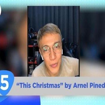 Give Me 5:  Arnel Pineda's favorite Christmas songs
