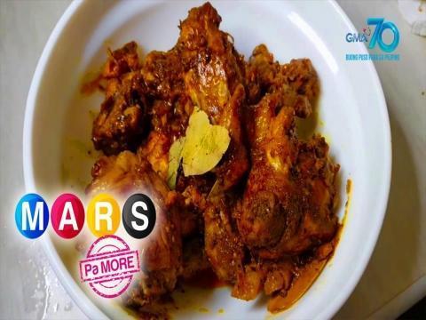 Mars Pa More: Jessa Chichirita's Ilonggo Style Spicy Adobo recipe | Mars Masarap