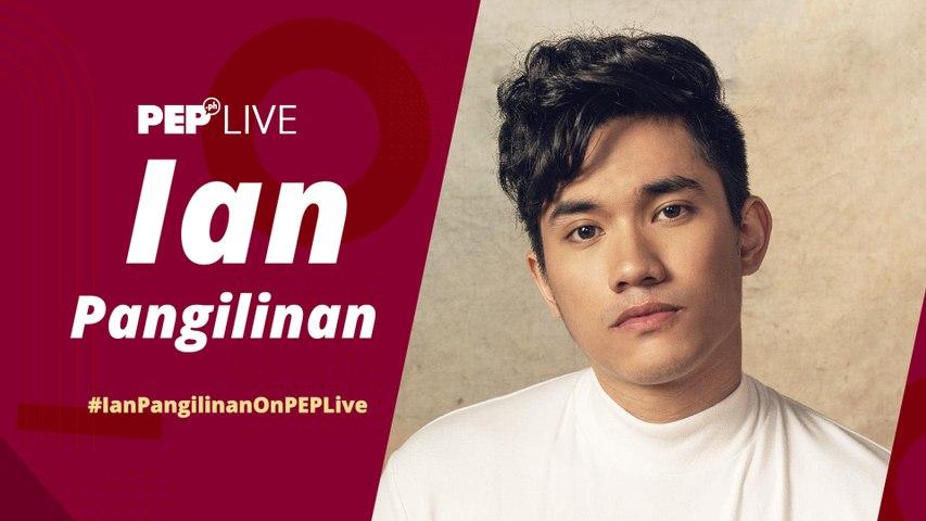 Ian Pangilinan on PEP Live