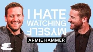 Armie Hammer   I Hate Watching Myself