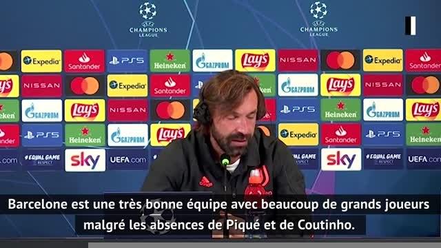 """Groupe G - Pirlo : """"Il faudra montrer beaucoup de détermination face à Barcelone"""""""