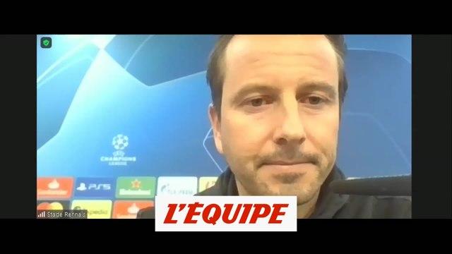 Stéphan : « Un match très compliqué » à Séville - Foot - C1 - Rennes