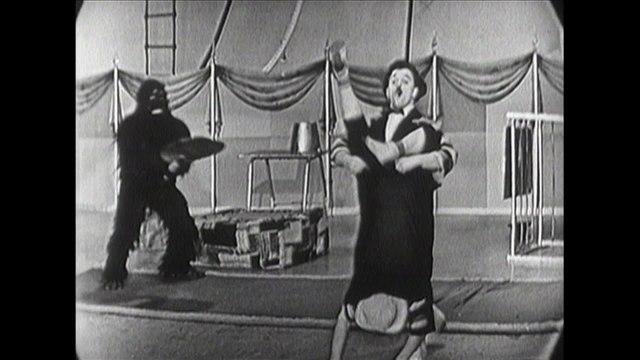 The Six Gutis - Slapstick Acrobats With Gorillas