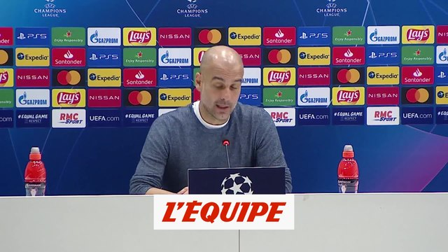 Guardiola : « On a joué comme on voulait jouer » - Foot - C1 - Man. City