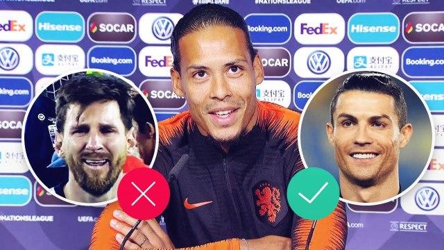 Leo Messi vs. Cristiano Ronaldo : 14 défenseurs disent qui est le meilleur | Oh My Goal