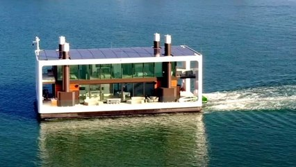 Inside A Luxurious Floating Mansion In Miami
