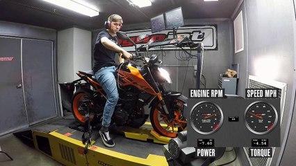 2020 KTM 200 Duke Dyno